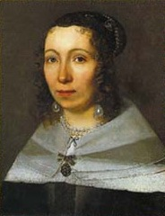 Maria Sibylla Merian portrait colors