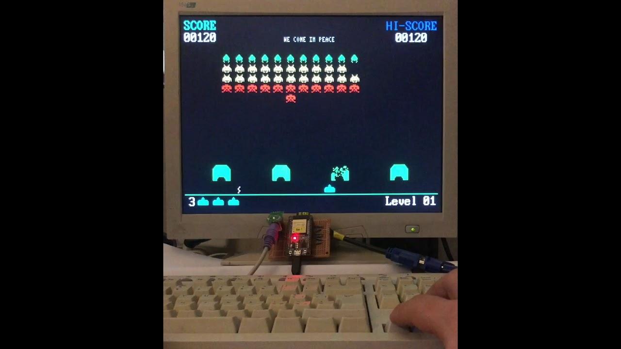 FabGL: a ESP32 VGA Controller, PS/2, Graphics Library, Game Engine + ANSI Terminal @cameron_coward @HacksterIO