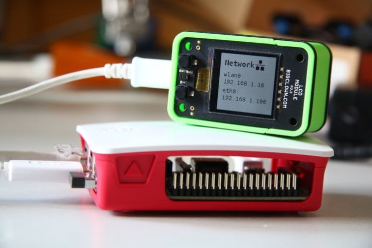 Display Text or Video on BigClown LCD Module Over USB @Raspberry_Pi