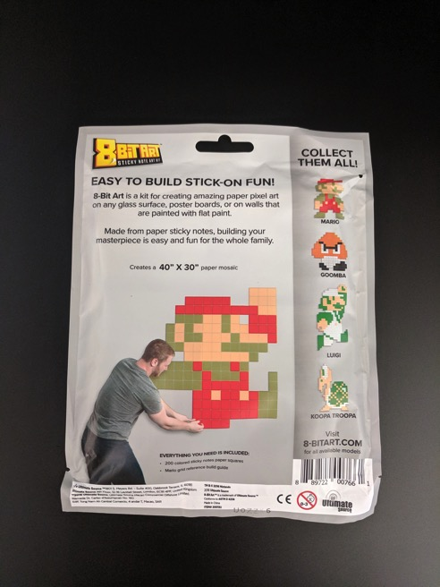 Mario bag back