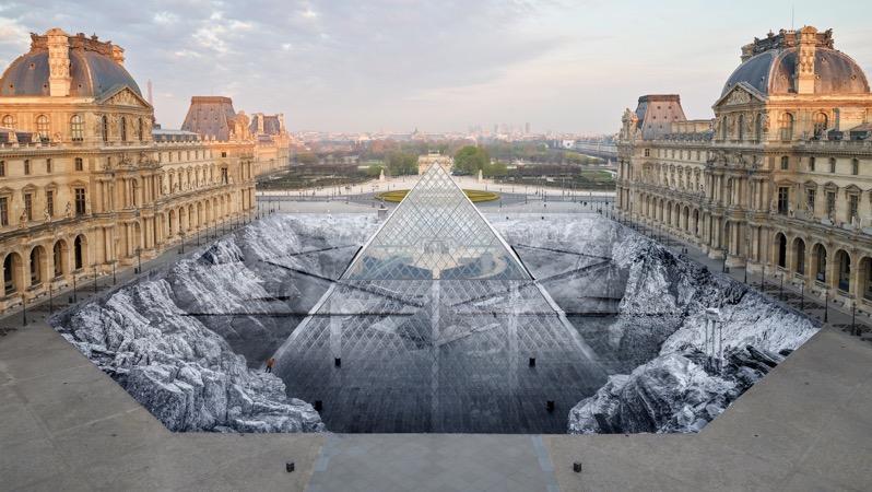 The secret of the great pyramid jr louvre design architecture installation dezeen 2364 hero