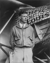 170px Charles Lindbergh and the Spirit of Saint Louis Crisco restoration with wings