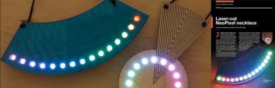 Laser-cut jewelry