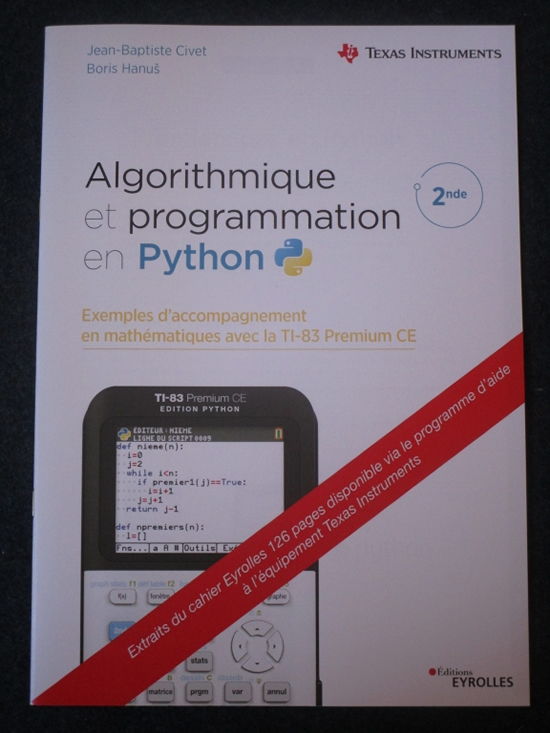 CircuitPython activity book for the TI-83 Premium Calculator