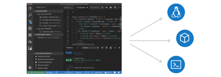 New: Use VS Code to edit on remote systems #VSCode #Python