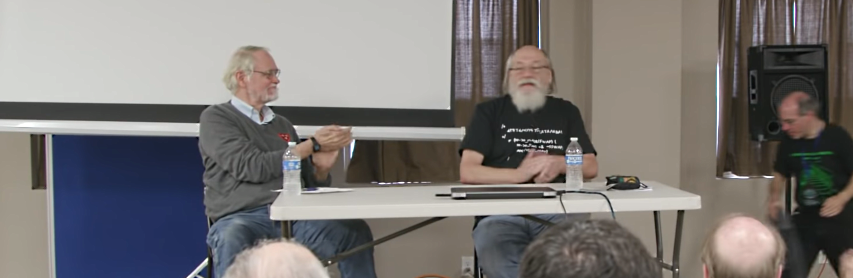 VCF East 2019 -- Brian Kernighan interviews Ken Thompson