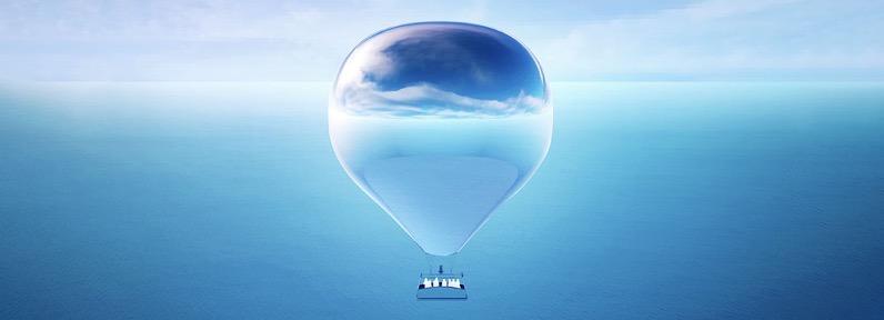 Doug aitken new horizon trustees mirror hot air balloon designboom 1800