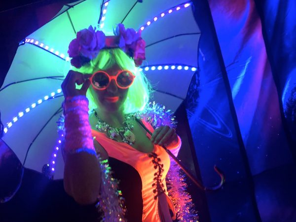 Black Light Parasol