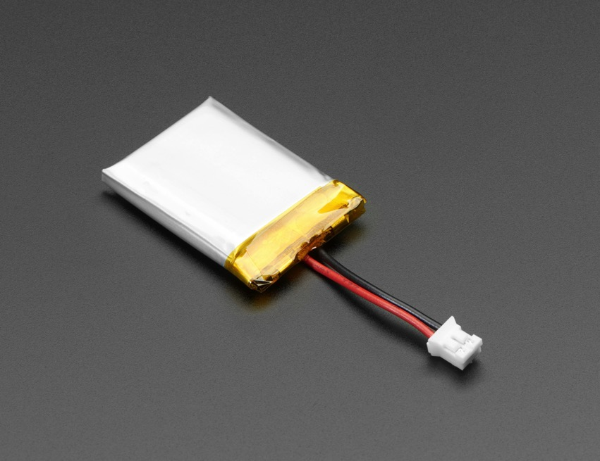 Cables – 3 7V – 350mAh / 420mAh NEW PRODUCTS – Lithium Ion Polymer