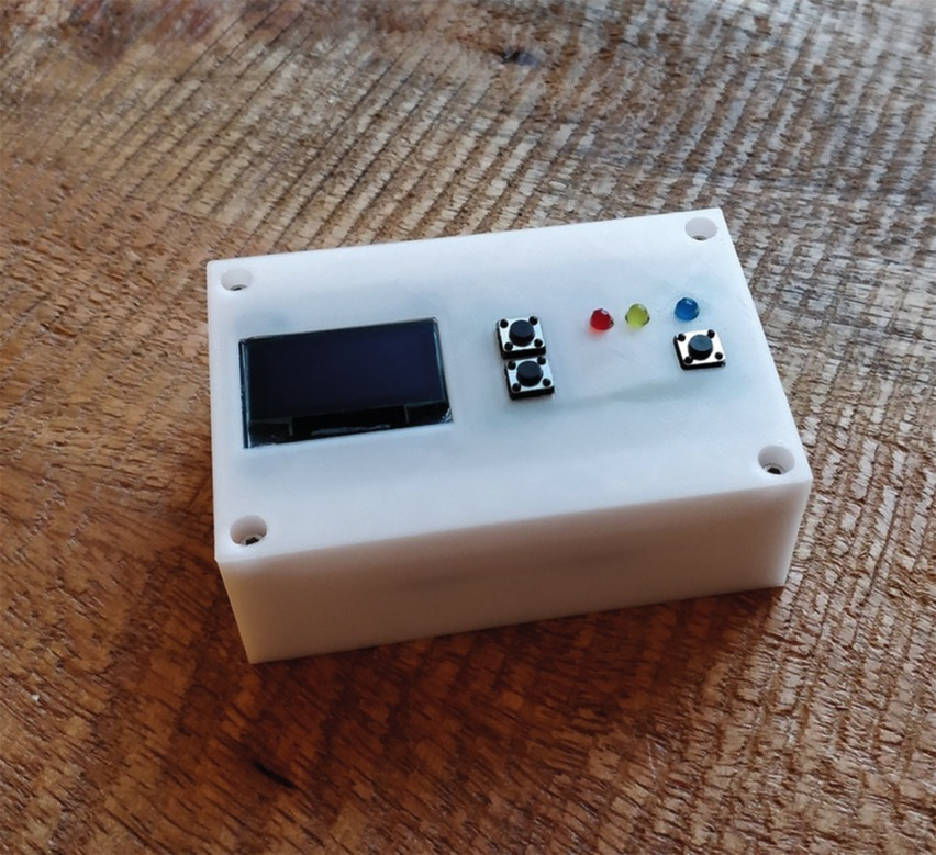 DIY Hardware Password Keeper annotate