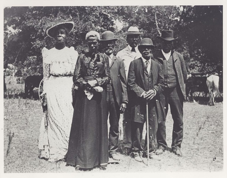 Emancipation Day celebration 1900 06 19