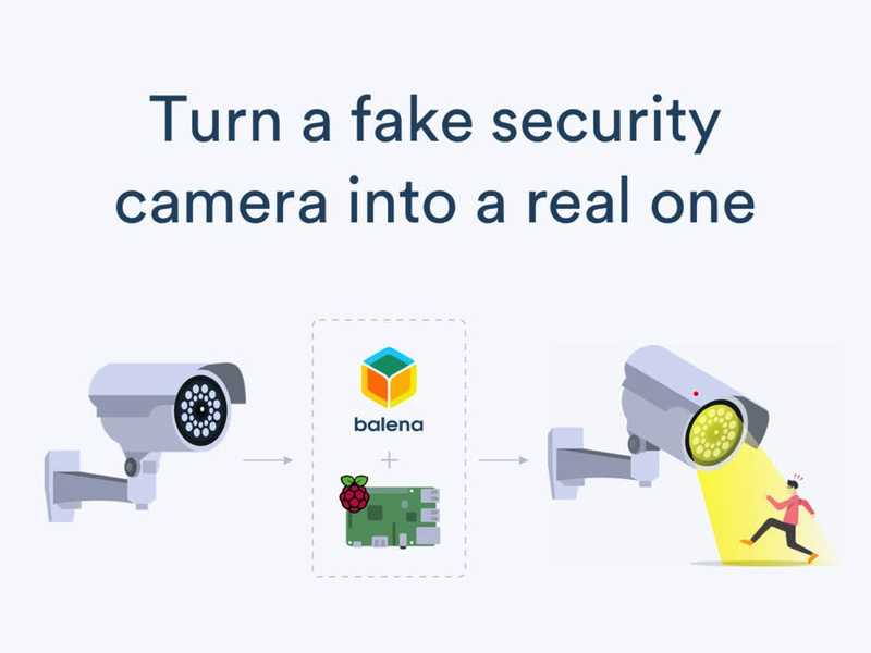 Turn a Fake Security Camera into a Functioning Camera with