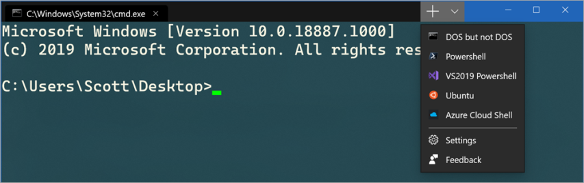 Followup! Windows Terminal Preview is now in the Windows App Store