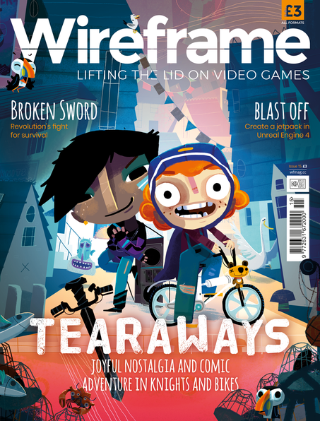 Wireframe magazine issue 15 is here! #Gaming @wireframemag @Raspberry_Pi
