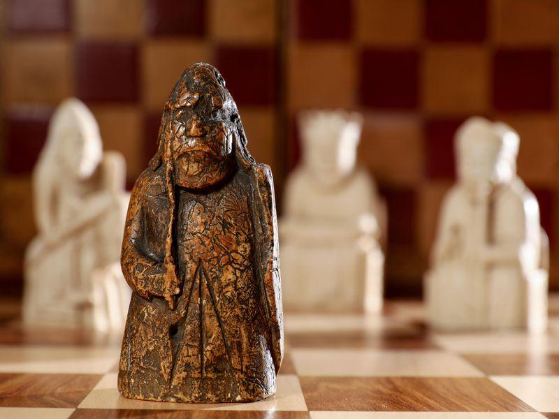 A lewis chessman 9