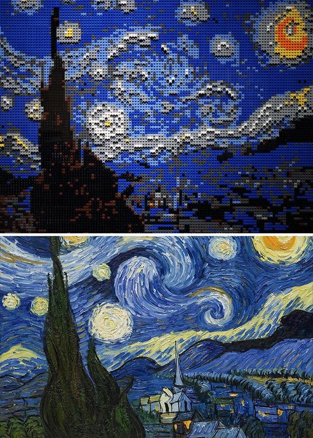 Famous artworks lego creations 2 5c7e988cd0934 700