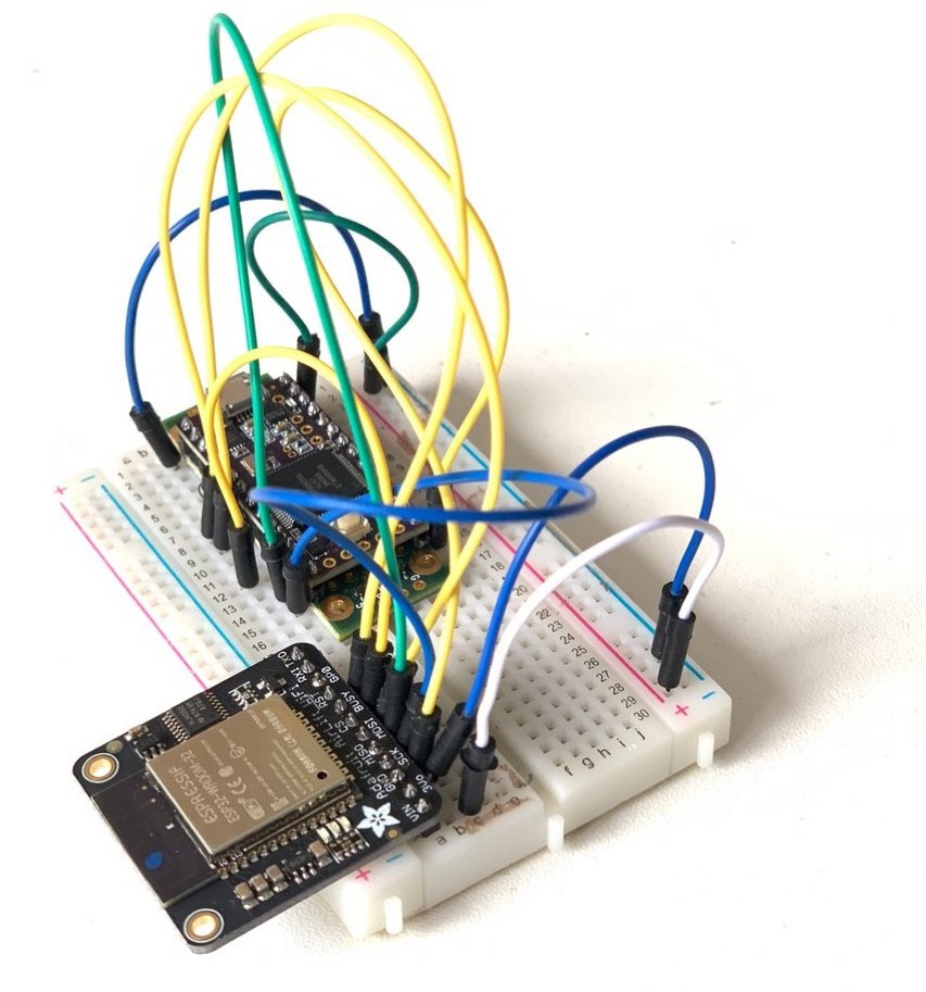 """Teensy + Wi-Fi: AirLift """"super quick to get up and running"""