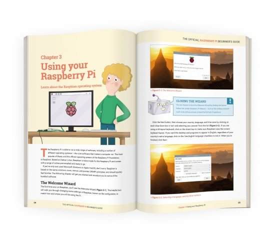 Free PDF of The Official Beginner's Guide Updated for Raspberry Pi 4