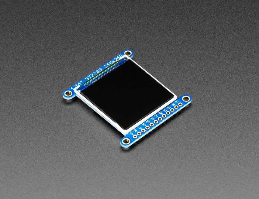 LCD Display with MicroSD – ST7789 UPDATED PRODUCT – Adafruit 1 54