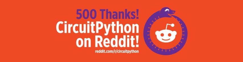https://www.reddit.com/r/circuitpython/