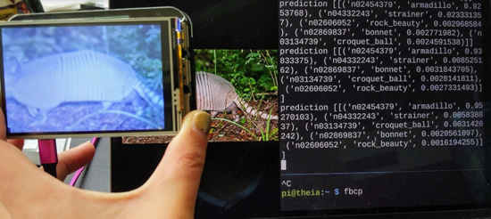 Portable Computer Vision