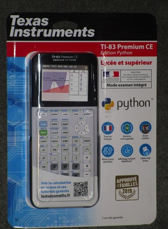 TI-83 Premium CE Python Edition