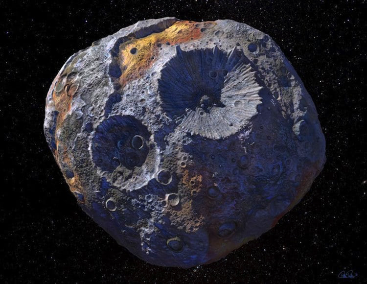 NASA Is Going to Visit a Gold and Precious Metal Asteroid ...