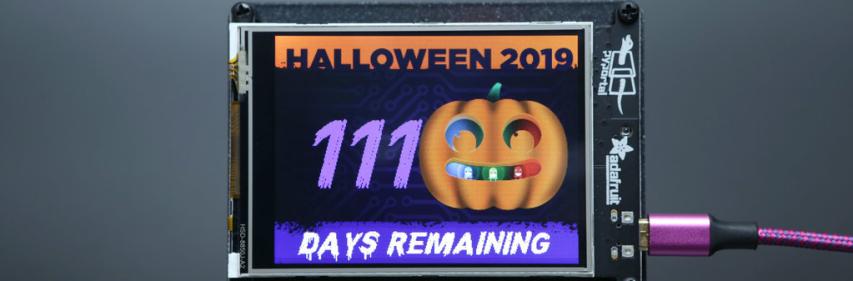 https://learn.adafruit.com/pyportal-halloween-countdown
