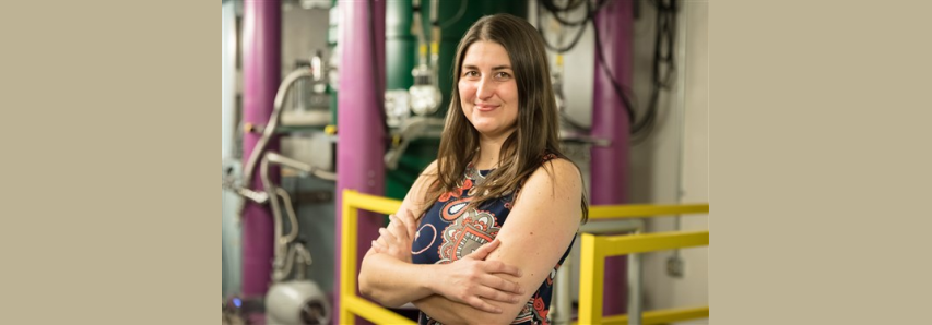 Leah Broussard studies subatomic particles at Oak Ridge National Laboratory