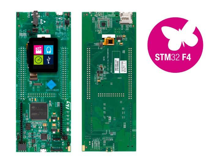 STM32 Discovery F412ZG and F411RE support snakes its way to