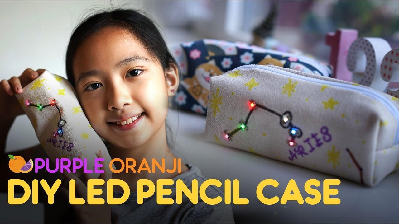 """How To Make An LED """"Pencils or Whatever Case"""" #MakerEducation"""