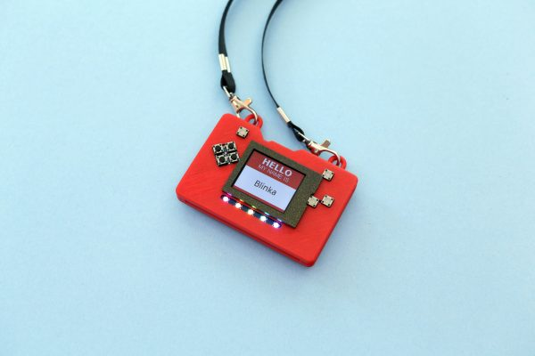 is designed to secure the PyBadge PCB without any hardware screws