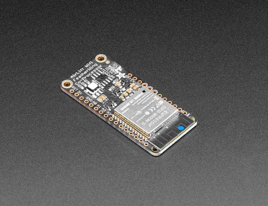 NEW PRODUCT – Adafruit AirLift FeatherWing – ESP32 WiFi Co
