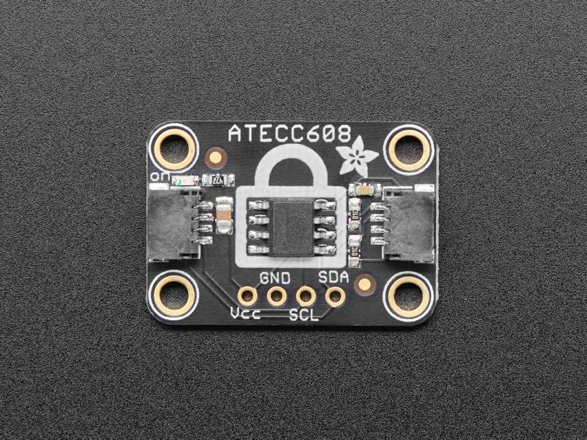 NEW PRODUCT – Adafruit ATECC608 Breakout Board – STEMMA QT