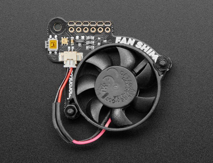 NEW PRODUCT – Pimoroni Fan SHIM for Raspberry Pi « Adafruit