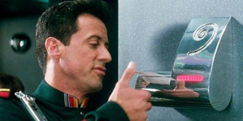 Demolition Man's verbal morality ticketing machine