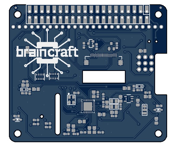 First Look at the BrainCraft HAT for Raspberry Pi and single