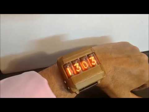 Nixie Tubes on a Wristwatch #WearableWednesday « Adafruit