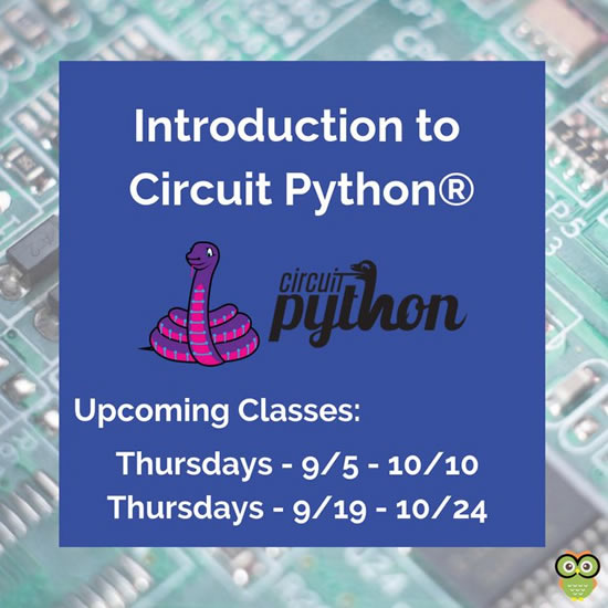 Introduction to CircuitPython class