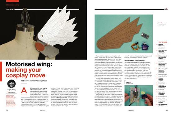 Motorized wing