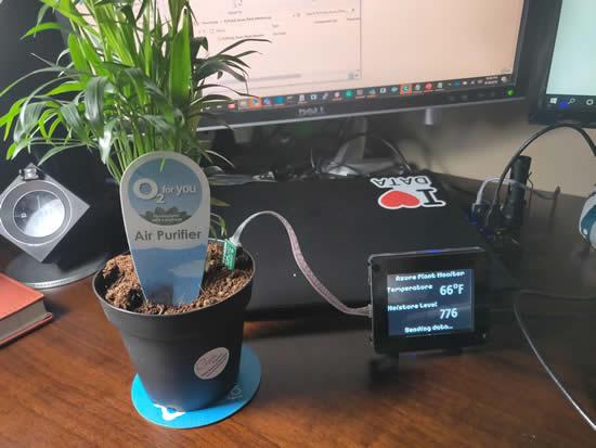 PyPortal IoT Plant Monitor