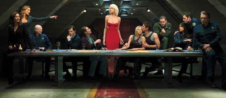 Battlestar galactica the last supper