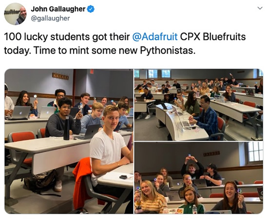 100 CPX Bluefruit