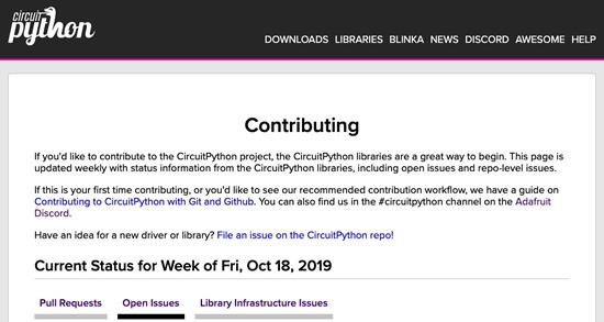 CircuitPython Libraries