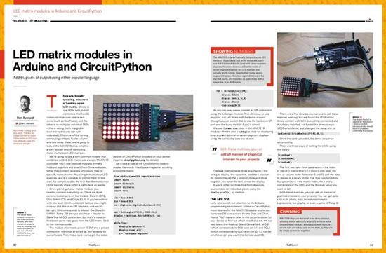 LED matrix modules