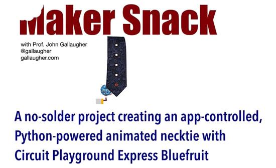 MakerSnack Python Smart Tie