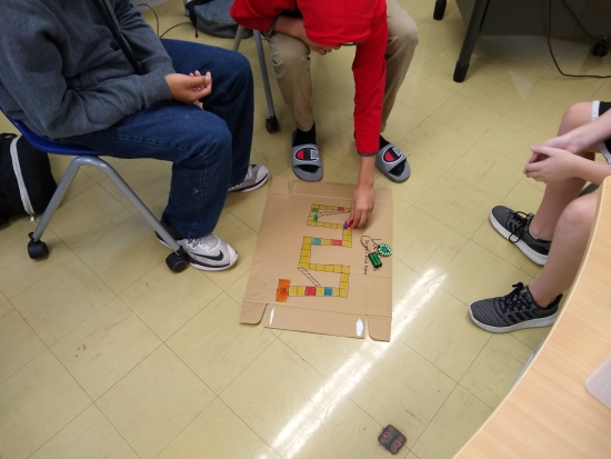 Student Made Board Games