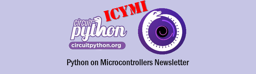 ICYMI CircuitPython Newsletter: CircuitPython snakes its way to Teensy 4.0, i.MX Feathers take flight and more! #Python #Adafruit #CircuitPython #ICYMI @circuitpython @micropython @ThePSF @Adafruit - RapidAPI
