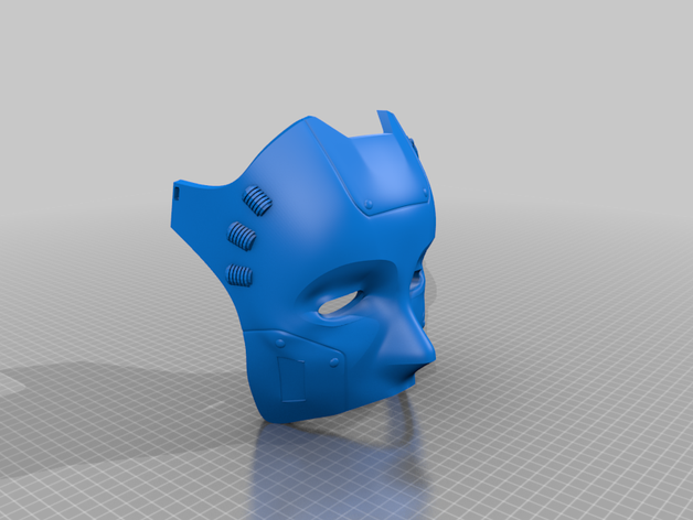 Featured preview Mask Model Details stl