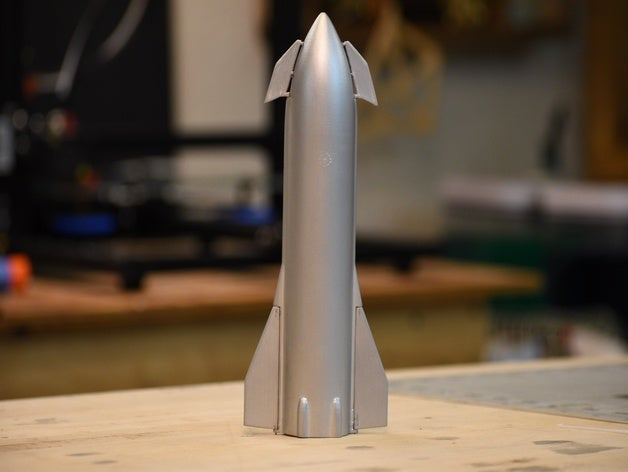 Featured preview Starship MK1 Prototype